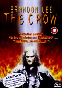 The Crow - Laurence Mason Angel David David Patrick - DVD -DISC LIKE NEW