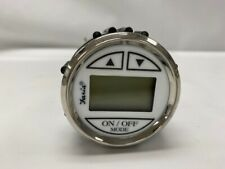 Faria Depth Finder Guage - White Face with Chrome Bezel