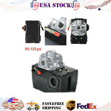 4 Port 26 Amp 95-125 Psi Pressure Switch For Air Compressor Universal Heavy Duty