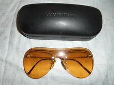 DOLCE & GABBANA  FASHION YELLOW SUNGLASSES with CASE FROM ITALY..! EXCELLENT.!!