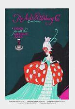 Original vintage poster print AULT&WIBORG AMERICAN INKS 1923