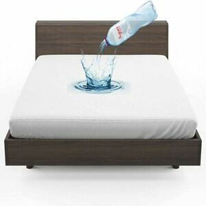 100% Waterproof 30cm Deep Terry Towel Anti-Allergic Mattress & Pillow Protectors