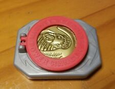 McDonald's Mighty Morphin Power Rangers MMPR Morpher Buckle & 3 Coins Toy (1995)