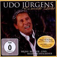 """UDO JÜRGENS """"ES WERDE LICHT MEINE..."""" CD+DVD NEW"""