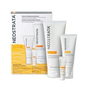 Neostrata Enlighten Intense Brightening System w/ Cleanser Eye Cream Complex New