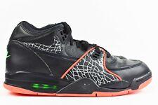 Nike Air Flight 89 QS Mens Size 13 Shoes CT8478 001 Black Orange