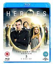 Heroes: Season 3 [Blu-ray] [Region Free] [DVD][Region 2]