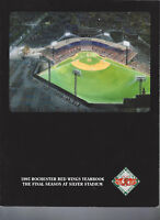 1995 Rochester Red Wings Yearbook Program