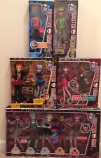 Monster High 11 Doll Lot Clawd Heath Gil Holt Deuce NIB Ready To Ship