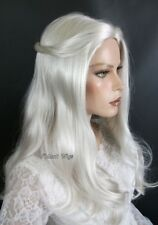 WHITE QUEEN - Alice In Wonderland Wig. *  Christine *  TOP QUALITY! *