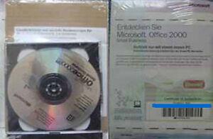 Microsoft Office 2000 Small Business (SBE) - deutsch - NEU