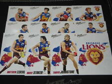 2010 AFL Select Prestige Brisbane Lions Full basic team set