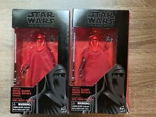 Hasbro Black Series Imperial Royal Guard Lot Of 2 Action Figures