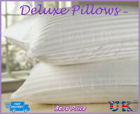 Brand New Pack Of 4 Deluxe Striped Jumbo Bounce Back Pillows