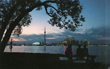 Canada  -  Toronto  -  A twilight view of the skyline as seen from Centre Island
