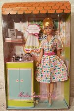 2007 Blonde Barbie Doll Learns To Cook Vintage 1965   Reproduction #K9141