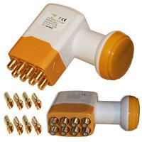Golden Media Universal Octo LNB 208+ High Gain 0,1dB 4K