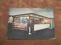 1970s postcard - Entrance Foyer - Wanaka Hotel - South Island New Zealand