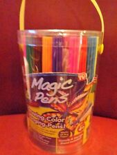 As Seen on TV Wham-o Magic Pens Color Changing Eraser Markers 20 Pack NEW