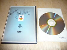 Level 42 : LIVE 2001 Reading UK - MARK KING Autograph Signature Signed - DVD