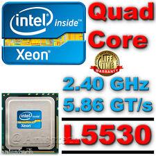 Intel ® Xeon ® Processor L5530 8m Cache 2.40 Ghz, 5.86 GT/s Intel ® QPI 60w slbgf