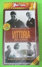 VHS film IL SAPORE DELLA VITTORIA Washington PANORAMA sigillata (F11*) no dvd
