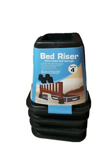 New Bed Risers - Black (Set of 4)