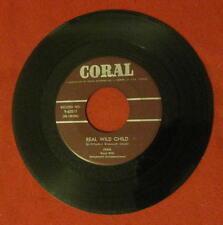 "IVAN ""REAL WILD CHILD"" MEGA RARE 1958 CORAL 62017 CANADIAN IMPORT LQQQK!!"