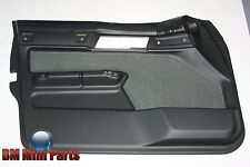 BMW E34 Front Left Fabric Door Card Anthracite 51418155937