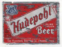 Cincinnati Ohio_HUDEPOHL LAGER BEER_IRTP_Label_12oz_Foil
