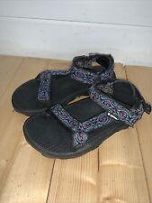 Girls Youth Teva S/N 6219 Sandals Hiking Size Uk 1 EU 32