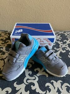 New Balance Little Kids Pre Running Shoe Size 7 Blue N Grey (NEW In Box)