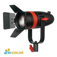 55W Bi-Color CAME-TV Boltzen LED Video Focusable Fresnel Light+Bowen adapter