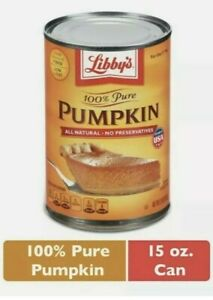 Libby's 100% Pure Pumpkin 15 oz.