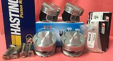 YCP P29 75.5mm Pistons Teflon Coated Oversize HighComp+Bearings+Rings Honda D16