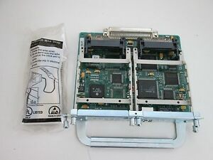 Cisco 10/100 Ethernet 2 WAN Card Slot Network Module (NM-1FE2W) - Sealed