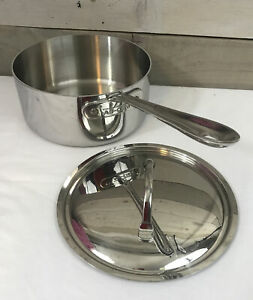 Used All-Clad 3 Qt. Sauce Pan Stainless Steel with Lid