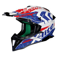 CASCO CROSS X-LITE X-502 NAC-NAC  - 14 METAL WHITE TAGLIA S
