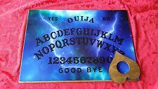 Wooden Ouija Board Bizarre Magic Blue Light & Planchette Instructions Ghost