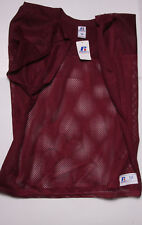 Russell Athletic Men M Maroon Football Mesh Practice Jersey Shimmel - S42A