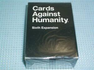 Cards Against Humanity 6th Expansion Pack - New and Sealed