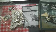 Master Of the Ravenwing Sammael dark Angles Metal Warhammer 40k OOP