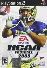 SONY PlayStation 2 PS2 NCAA Football 05 2005 (COMPLETE)