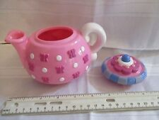Fisher Price Fun with Food Musical Tea Teapot pot pink sounds toy part lid set