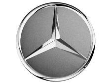 Mercedes Benz Original Satz 4 Radnabenkappen Grau 75mm Neu OVP