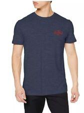 Quiksilver Hombre Kalbarri-T-Shirt Knit Top, Azul Marino, Talla Men'S Pequeño Reino Unido