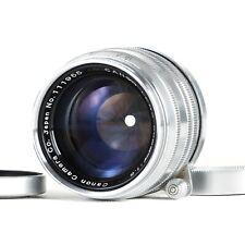 :Canon Rangefinder 50mm f1.8 Leica Screw LTM L39 Mount Lens [MINT-]