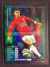 2008-09 Panini WCCF MVP Cristiano Ronaldo Refractor card Manchester United