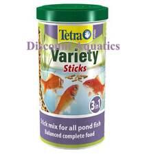 TETRA POND VARIETY STICKS 1L, 4L, 5L, 7L, 10L, 15L, 25L, KOI FISH FOOD DIET