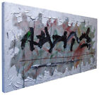 4 Feet WIDE! █ORIGINAL█OIL█PAINTING█LARGE█IMPRESSIONIST█ART█REALISM█ABSTRACT POP